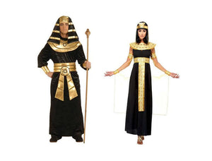 Egyptian Queen of the Nile & Men's Pharaoh Couples Costume