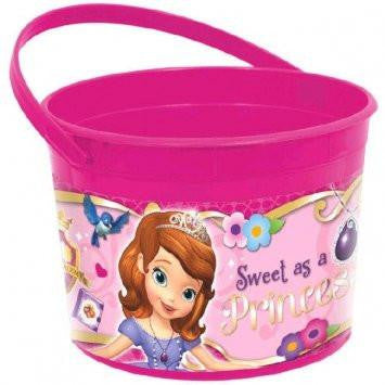 Disney Sofia The First Princess Trick-or-Treat Pail Bucket