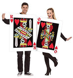 Dark King & Queen of Hearts Couples Costume