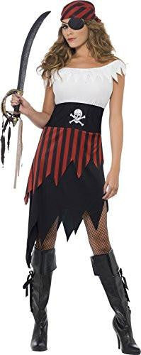 Pirate Skull Wench Women's Costume