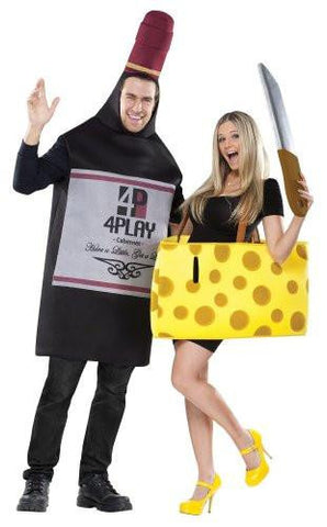 Image of Wine And Cheese Couples Costume
