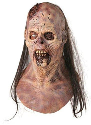 Image of Realistic Maggot Buffet Zombie Mask