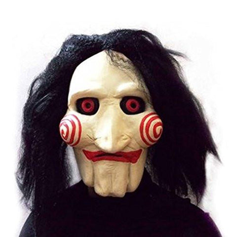 Image of Saw Movie Jigsaw Puppet Mask