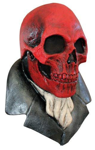 Red Skull Mask Horror Halloween Costumes