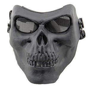 Coxeer DC-10 Deluxe Full Face Skull Mask Outdoor Hunting Cs War Game Mask