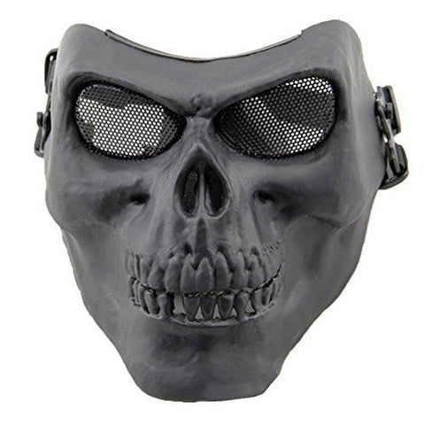 Image of Coxeer DC-10 Deluxe Full Face Skull Mask Outdoor Hunting Cs War Game Mask