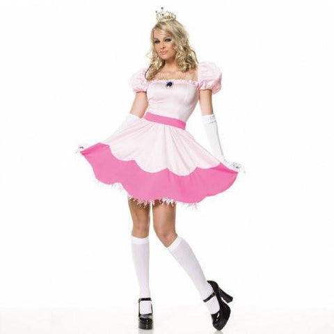 Image of Women's Pink and White Princess Costume