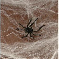 Halloween Spider Webs Spiderwebs With Plastic Spiders - 12 Packs