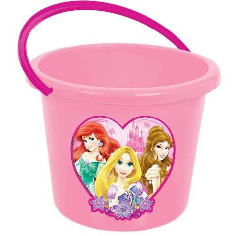Image of Heart Shaped Disney Princess Trick-or-Treat Pail Bucket