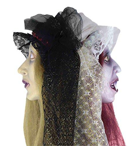 Two-Faced Zombie Bride Hanging Head