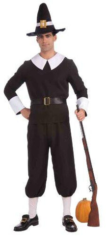 Image of Men's Pilgrim Costume
