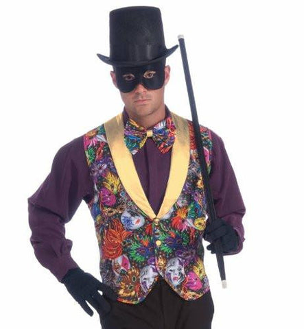 Image of Mardi Gras Vest and Bow Tie