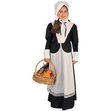 Image of Pilgrim Girl's Costume