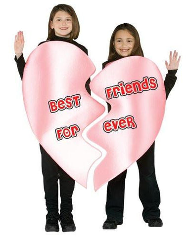 Best Friends Forever Heart Child Costume