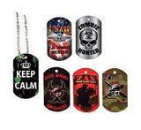 18 Zombie Dog Tags - Multipack of Zombie Party Favors