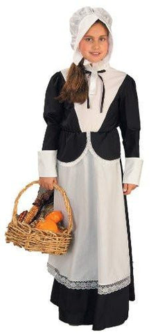 Image of childrens pilgrim dress