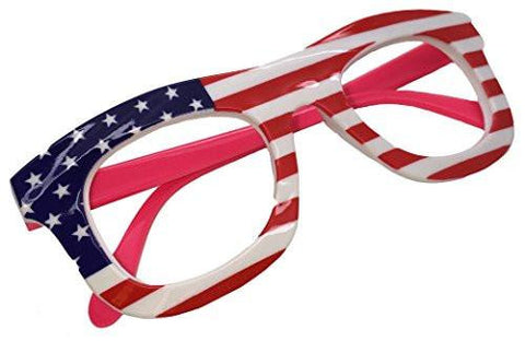Star Spangled Banner Flag Halloween July 4th glasses