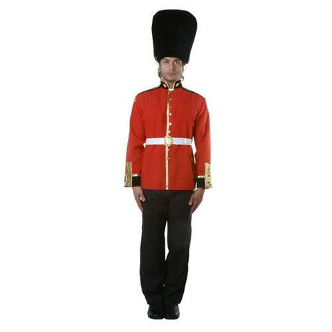 Image of British soldier costume