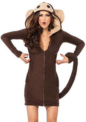 Adult Monkey Animal Womens Costume