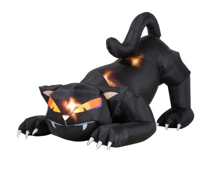Animated Black Cat