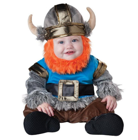 Baby Medieval Barbarian Warrior Viking Costume