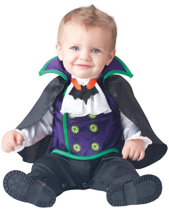 Baby Boy's Count Dracula Costume