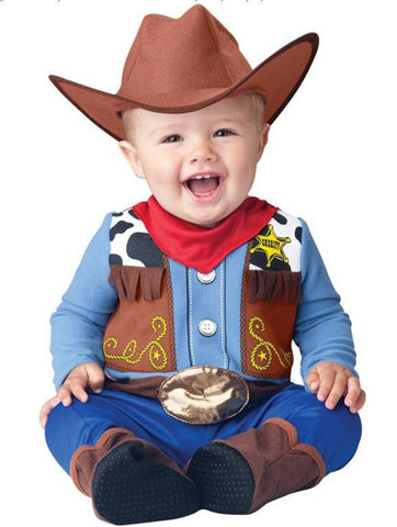 Baby Boy's Lil' Wrangler Cowboy Costume