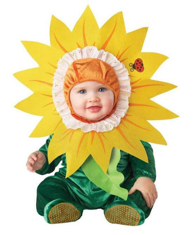 Baby Cuddly Sunflower Costume