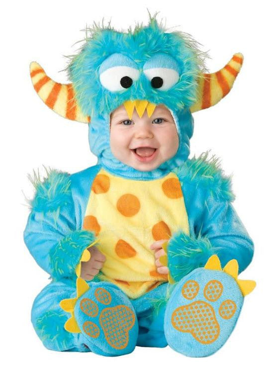 Baby Monster Costume Blue