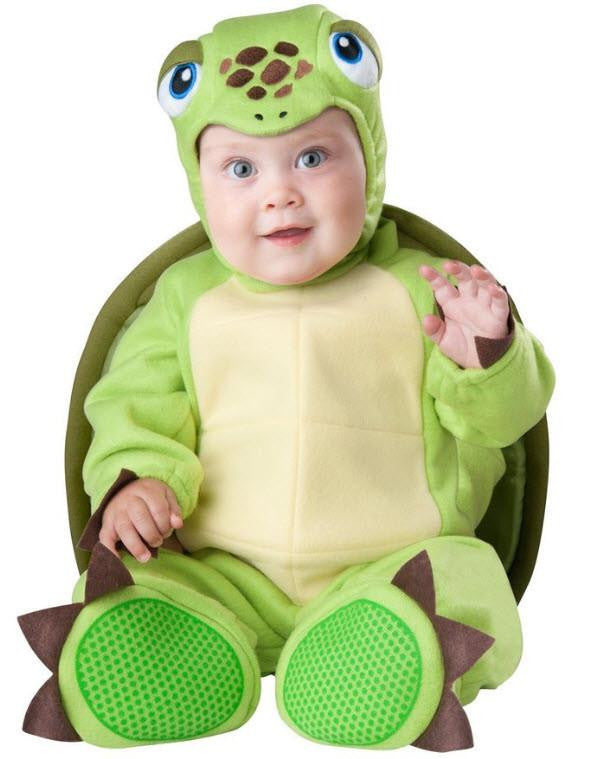 Baby's Adorable Turtle Costume