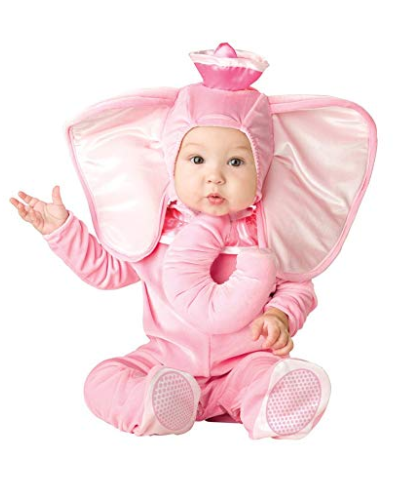 Baby Pink Elephant Girls Costume