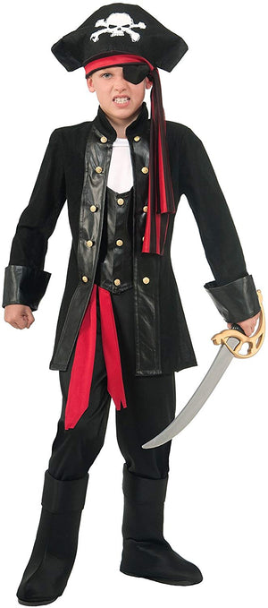 Boys Pirate Skull Costume
