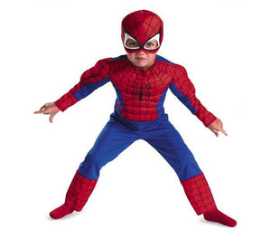 Boys Spiderman Muscle Costume