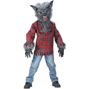 Boys Werewolf Wolf Animal Costume