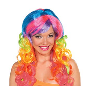 Candy Swirl Hair Wig