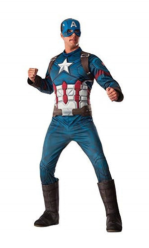 Captain America Superhero Marvel Mens Costume