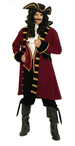 Captain Hook Pirate Costume