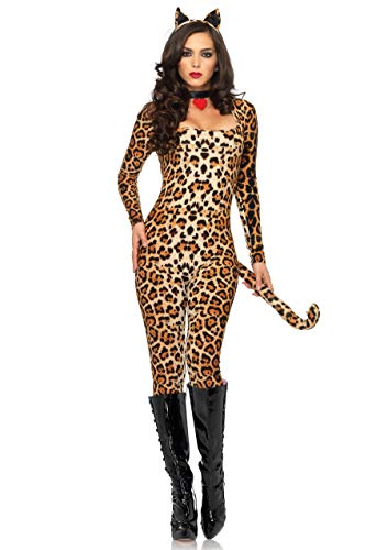 Cat leopard Kitty Womens Costume
