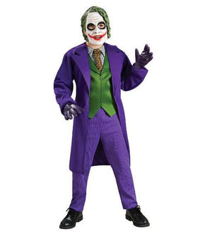 Childs Batman The Dark Knight Deluxe The Joker Costume