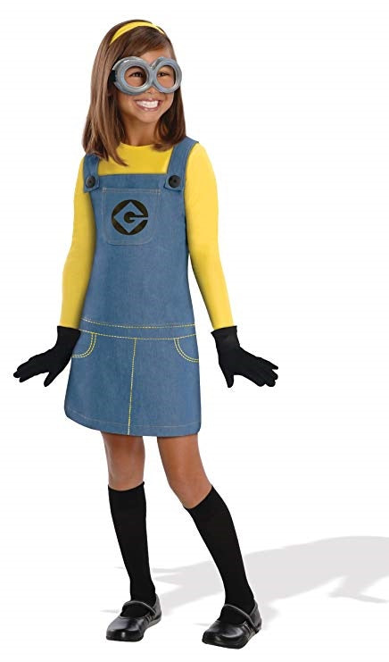 Despicable Me Minions Girls Costume