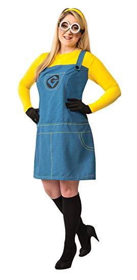 Despicable Me Minions Plus Size Womens Costume