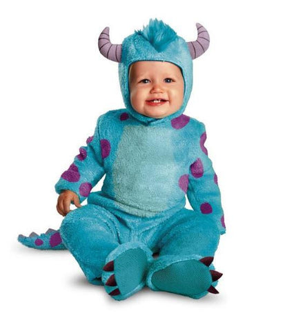Disney Pixar Monsters University Sulley Baby Toddler Halloween Costume