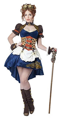 Fantasy Steampunk Womens Costume