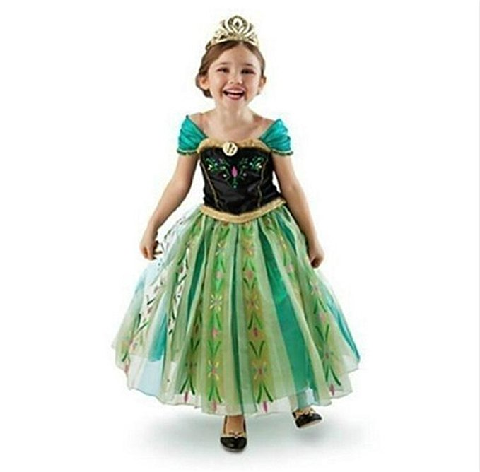 Frozen Fever Ana Girls Costume