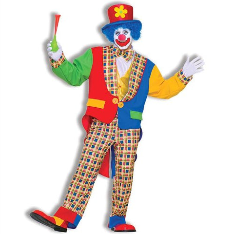 Funky Clown Adult Costume