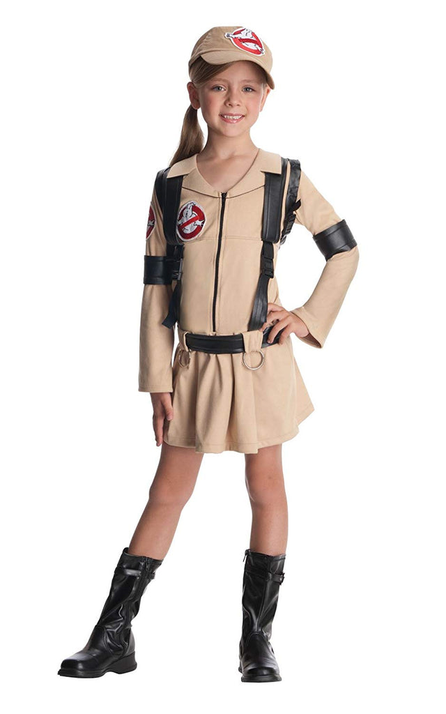 Ghostbusters Dress Girls Costume