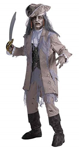 Ghostly Zombie Pirate Adult Costume