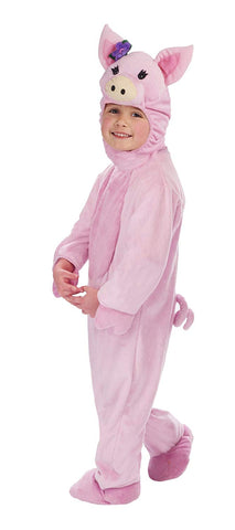 Image of Girls Pig Costume
