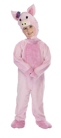 Girls Pig Piglet Animal Costume