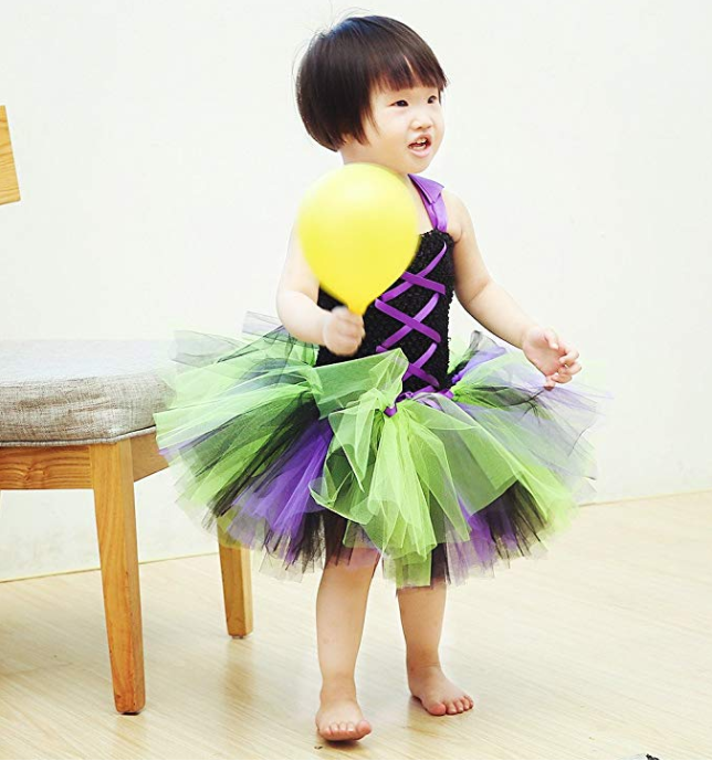 Multi Color Tutu Halloween Dress